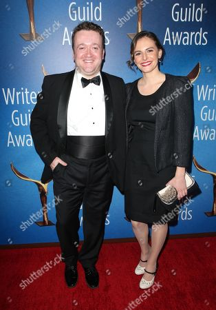 Stock Picture of Neil Casey and Meredith Casey