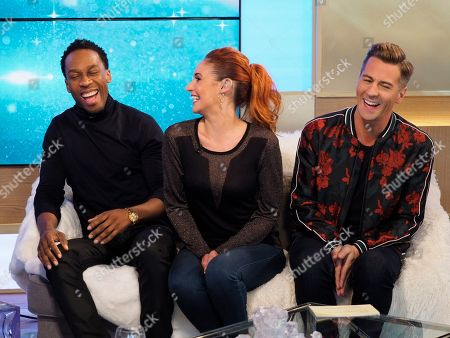 Lemar, Melody Le Moal and Matt Evers