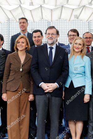 Editorial image of People Party (PP) regional presidents meeting in Madrid, Spain - 12 Feb 2018