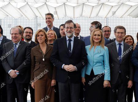 Editorial photo of People Party (PP) regional presidents meeting in Madrid, Spain - 12 Feb 2018