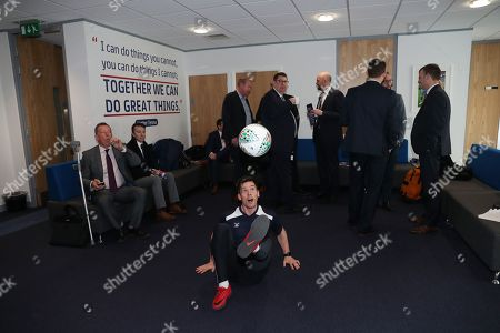 Stock Image of Free style footballer John Farnworth at the 10th Anniversary of the EFL Trust