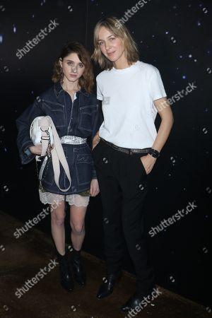 Natalia Dyer and Cecilia Bonstrom, Fashion Designer for Zadig and Voltaire