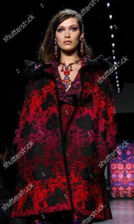 Bella Hadid on the catwalk