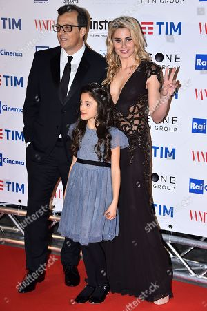 Gabriele Muccino Angelica Russo and daughter