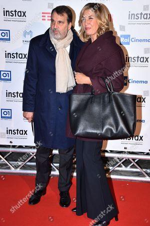 Marco Tardelli and Mirta Merlino