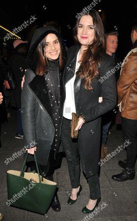 Stock Image of Charlotte Riley and Megan Maczko
