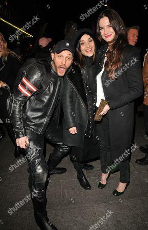 Stock Photo of Tom Hardy, Charlotte Riley and Megan Maczko
