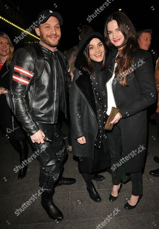 Tom Hardy, Charlotte Riley and Megan Maczko