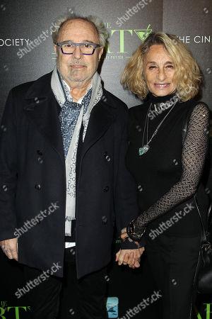 Stock Image of Mick Jones, Ann Dexter-Jones