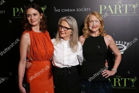 Emily Mortimer, Sally Potter, Patricia Clarkson