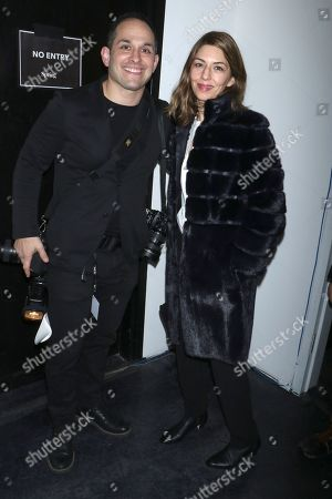Stock Picture of Mike Coppola and Sofia Coppola in the front row