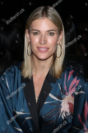 Kristen Taekman in the front row