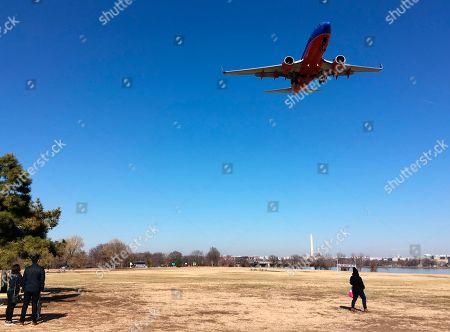Editorial photo of Park Nancy Reagan, Arlington, USA - 26 Jan 2018