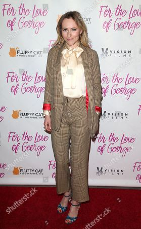 Editorial picture of 'For The Love Of George' film premiere, Los Angeles, USA - 12 Feb 2018