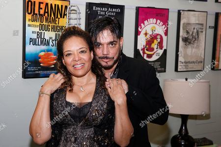 Michael DeLorenzo and Luna Lauren Velez
