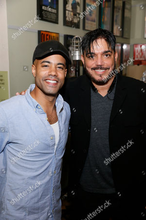 Stock Picture of Sean Carvajal and Michael DeLorenzo