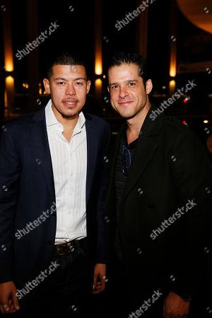 Elliot Ruiz and Miles Gaston Villanueva