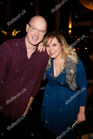 Hugo Armstrong and Kirsten Vangsness