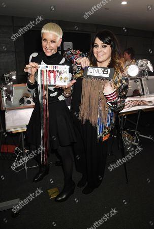 Editorial image of Libertine show, Backstage, Fall Winter 2018, New York Fashion Week, USA - 12 Feb 2018