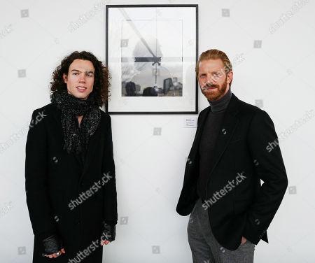 Stock Picture of Todd Dorigo and Alistair Guy
