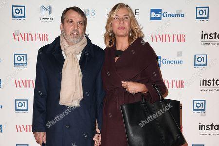 Editorial photo of 'A Casa Tutti Bene' film premiere, Rome, Italy - 13 Feb 2018