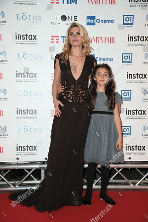 Angelica Russo with daughter Penelope
