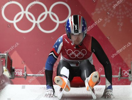 Editorial photo of Luge - PyeongChang 2018 Olympic Games, Daegwallyeong-Myeon, Korea - 13 Feb 2018