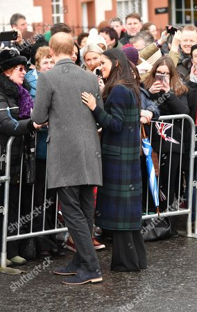 Editorial image of Prince Harry and Meghan Markle visit to Edinburgh, Scotland - 13 Feb 2018