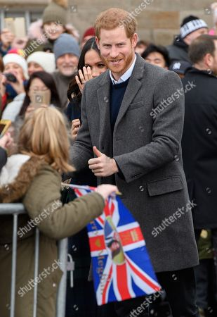 Prince Harry at Edinburgh Castle