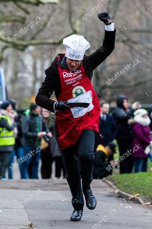 Editorial photo of Rehab Parliamentary Pancake Race, London, UK - 13 Feb 2018