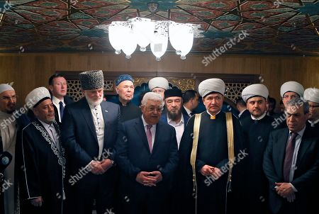 Editorial image of Palestinian President Mahmoud Abbas visits Russia, Moscow, Russian Federation - 13 Feb 2018