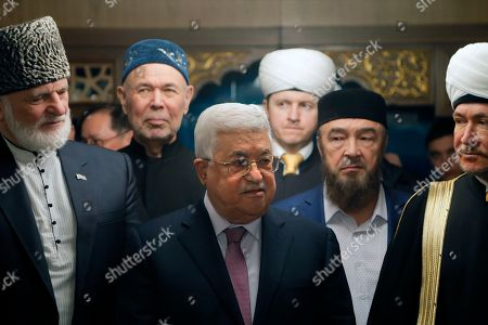 Mahmoud Abbas and Ravil Gainutdin