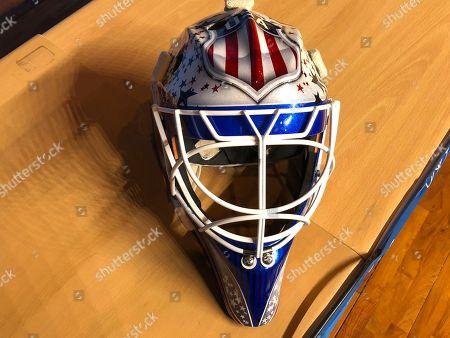 Editorial picture of Olympics Hockey Masks, Pyeongchang, South Korea - 12 Feb 2018