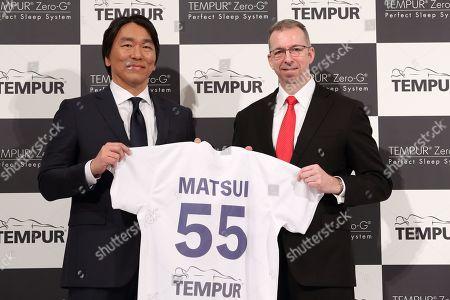 Hideki Matsui, Director of Tempur Sealy Japan Ltd Kim Mortensen