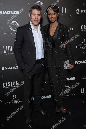 (L-R) Jalil Lespert and Sonia Rolland