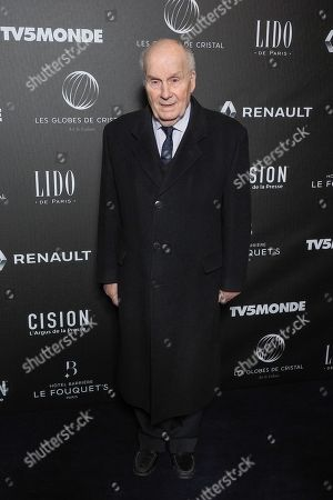 Editorial picture of Crystal Globes Awards Ceremony, Paris, France - 12 Feb 2018