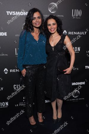 (L-R) Laurence Roustandjee and Aida Touihri