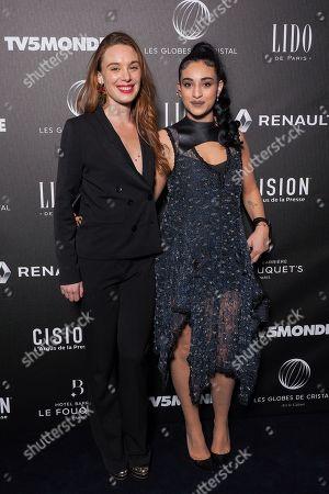 (L-R) Laetitia Dosch and Camelia Jordana