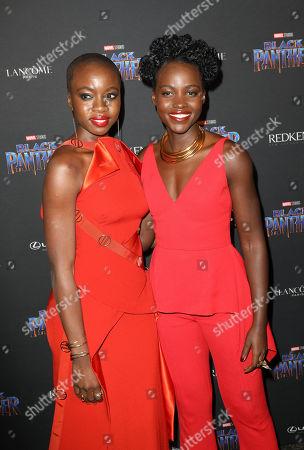 Danai Gurira and Lupita Nyong'o