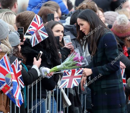 Meghan Markle at Edinburgh Castle