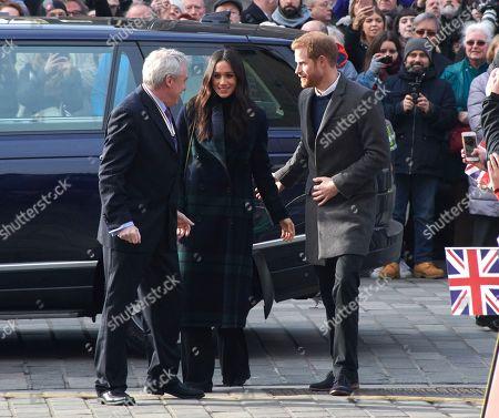 Prince Harry and Meghan Markle visit the Social Bite social enterprise cafe