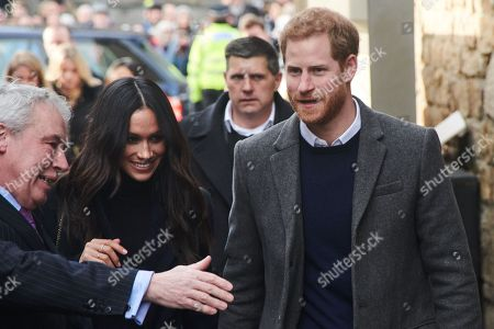 Prince Harry and Meghan Markle visit the Social Bite social enterprise cafe