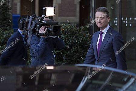 Editorial picture of Dutch minister Zijlstra resigns, The Hague, Netherlands - 13 Feb 2018