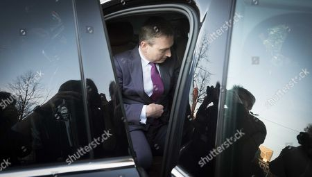 Editorial image of Dutch minister Zijlstra resigns, The Hague, Netherlands - 13 Feb 2018