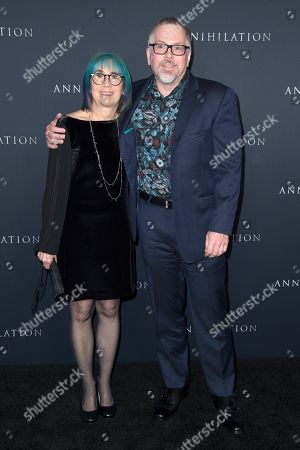 Editorial picture of 'Annihilation' film premiere, Arrivals, Los Angeles, USA - 13 Feb 2018