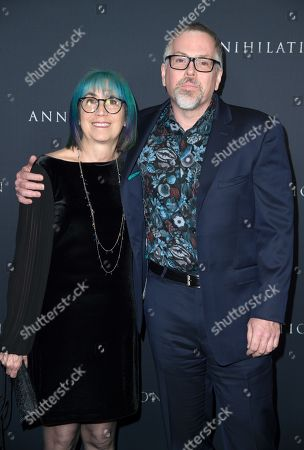 Editorial image of 'Annihilation' film premiere, Arrivals, Los Angeles, USA - 13 Feb 2018