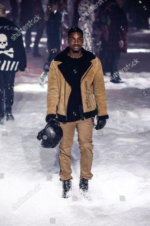 Editorial picture of Philipp Plein show, Fall Winter 2018, New York Fashion Week, USA - 10 Feb 2018