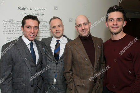 Editorial photo of 'The York Realist' party, After Party, London, UK - 13 Feb 2018