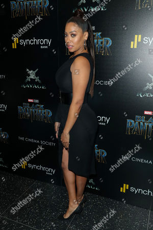 Editorial picture of 'Black Panther' film premiere, Arrivals, New York, USA - 13 Feb 2018