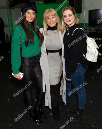 Jessica Wright, Carol Wright and Chloe Tangney